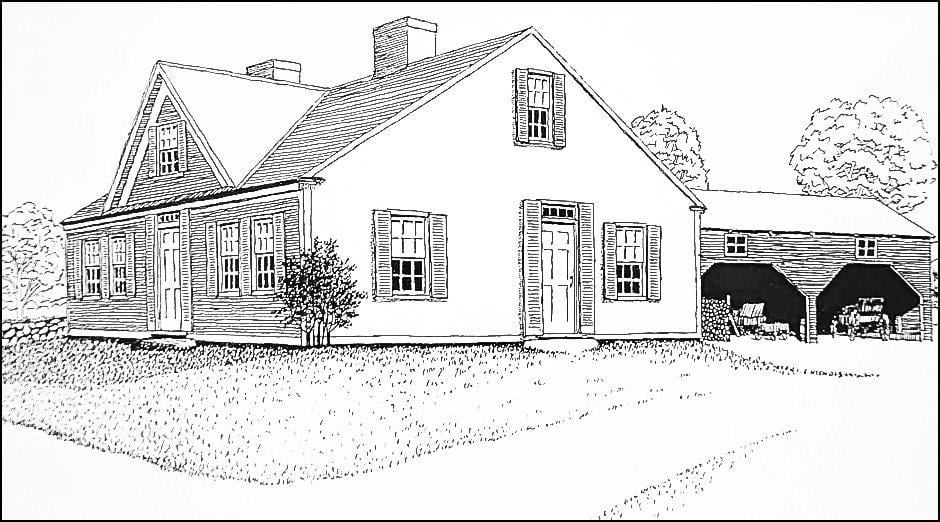 1780s Home Renovation Drawing