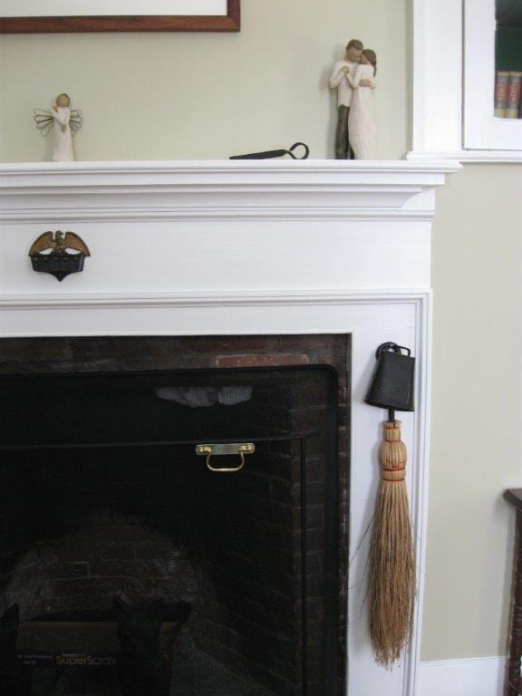 1800s Renovation Fireplace 2